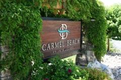 Carmel Beach Sign