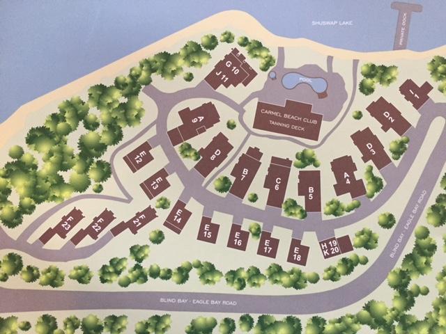 Carmel Beach Site Map
