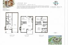 Lodge 13 Floor Plan & Bedding Configuration