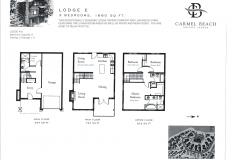 Lodge 16 Floor Plan & Bedding Configuration