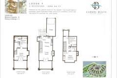 Lodge 23 Floor Plan & Bedding Configuration