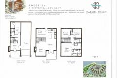 Lodge 12 Floor Plan & Bedding Configuration