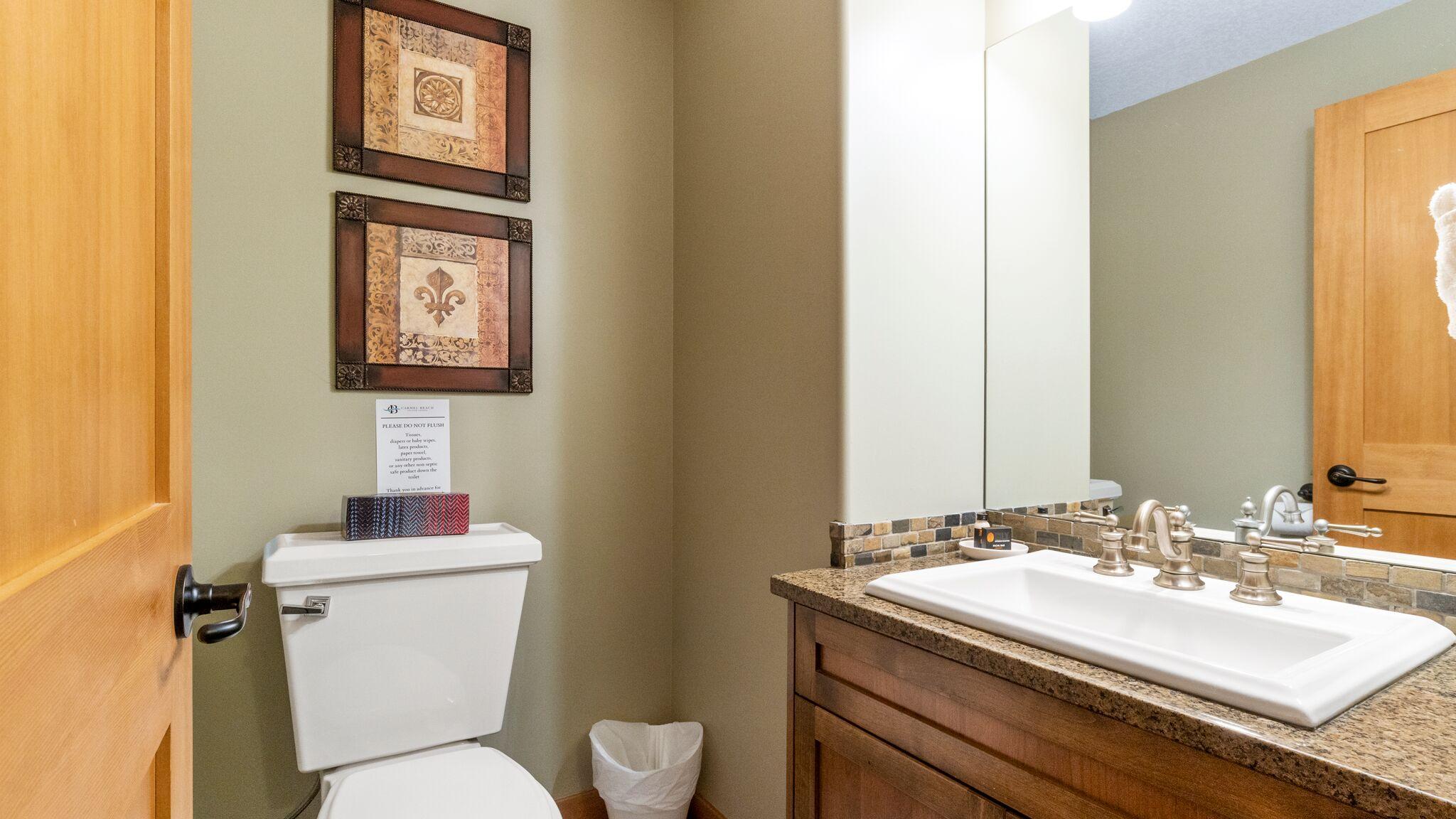 Half Bathroom, Downstairs