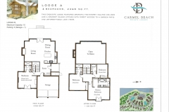 Lodge 4 Floor Plan & Bedding Configuration