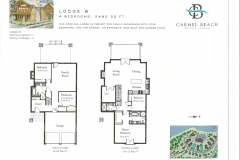 Lodge 5 Floor Plan & Bedding Configuration